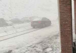 Snowstorm Brings Near-Whiteout Conditions to Fairfield [Video]