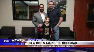 Drew Brees honors South Mississippi veteran with Super Bowl tickets [Video]