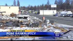 Camp Fire Survivors React to PG&E Declaring Bankruptcy [Video]