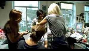 The Saturdays makeover their new bandmate [Video]