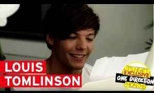 One Direction's Louis Tomlinson answers your Twitter questions! [Video]