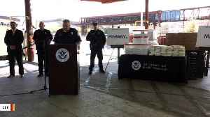 US Border Authorities Announce Largest Fentanyl Seizure In History [Video]