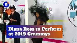 Diana Ross to Perform at 2019 Grammys [Video]