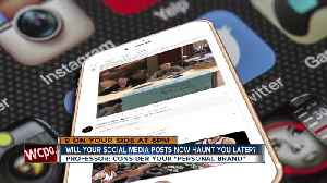 Will your social media posts haunt you? [Video]