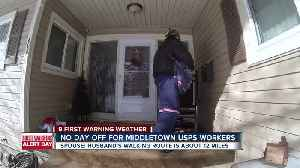 Mail carriers out in the elements [Video]