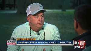 Highlands Sheriff urges officers to seek help one week after bank shooting, suicide [Video]