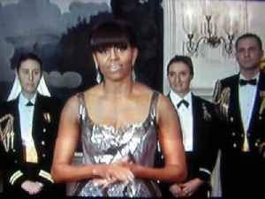 Michelle Obama participates in 2013 Academy Awards [Video]