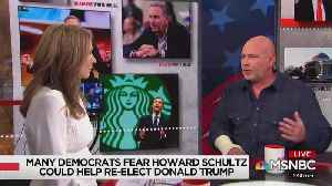 Nicolle Wallace admits why media is scared of Howard Schultz [Video]