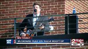 Musicians pay tribute to The Beatles on Tulsa rooftop [Video]