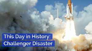Challenger Disaster On This Day In History [Video]