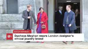Duchess Meghan Shows Off Jewelry Designs That She Likes [Video]