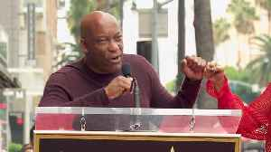 John Singleton At Taraji P. Henson Walk Of Fame Ceremony [Video]