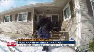 Mail carriers brave the arctic cold [Video]