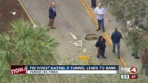 tunnel leading to bank Pembroke Pines [Video]