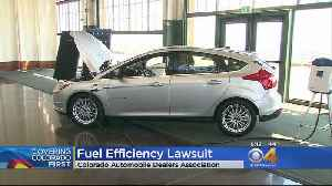 Lawsuit Filed By Colorado Auto Dealers Over Electric Cars, Fuel Standards [Video]