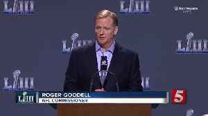 Goodell Addresses Officiating Controversy [Video]