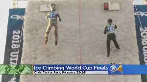 Civic Center Park To Host Ice Climbing World Cup Finals [Video]