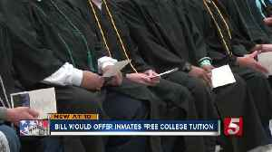 Lawmaker wants to offer tuition free courses for inmates [Video]