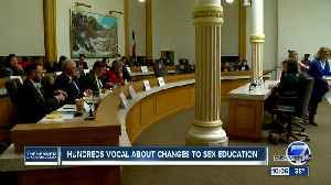 Hundreds of Coloradans get vocal about changes to sex education [Video]