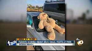 Teddy bear with bong found in OB park where children play [Video]