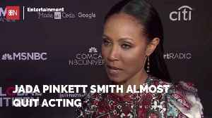Jada Pinkett Smith Almost Changed Careers [Video]