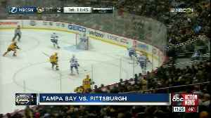 Pittsburgh Penguins jump out to early lead to top Tampa Bay Lightning 4-2 [Video]