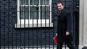 Jeremy Hunt First Cabinet Minister To Talk Brexit Delay [Video]