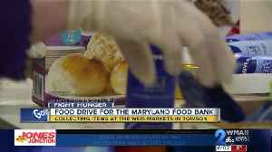 WMAR-2 News needs your help restocking the Maryland Food Bank [Video]