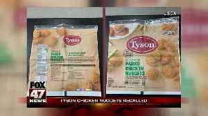 Tyson recalls more than 36K pounds of chicken nuggets nationwide [Video]