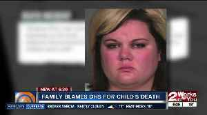Family blames DHS for child's death [Video]