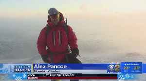 Mountain Climber Embraces Chicago Deep Freeze To Train For Everest [Video]