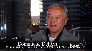 'Live TV Is Back' & Vice By The Numbers: Vice Media's Delport [Video]