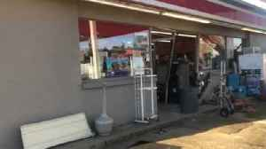 Men crash vehicle into store, try to steal ATM [Video]