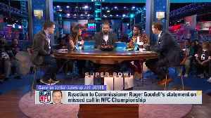 New Orleans Saints defensive end Cameron Jordan reacts to Roger Goodell's statement on NFC Championship no-call on 'Good Morning [Video]