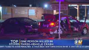 1 Killed In 3-Vehicle Hit-And-Run Crash In Dallas [Video]