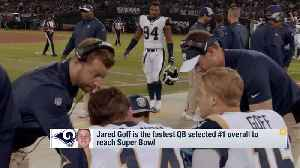 Omar Ruiz: Los Angeles Rams expecting quarterback Jared Goff to have a 'huge game' on Super Bowl Sunday [Video]