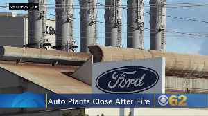 Auto Plants Close After Consumer Energy Fire [Video]