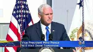 Mike Pence To Visit Doral To Address Venezuela [Video]