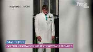 See Colton Underwood at His Prom In His Throwback Snap [Video]