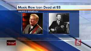 Harold Bradley, Nashville A-Team guitarist and Country Music Hall of Fame member, dies at 93 [Video]