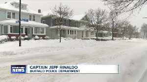 Woman finds burglar in home after shoveling [Video]