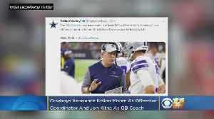 Cowboys Officially Name Kellen Moore As Offensive Coordinator, Add Jon Kitna As QB Coach [Video]