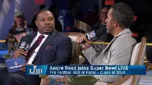 NFL Hall of Famer Andre Reed: 'The Greatest Show on Turf would not be that without Isaac Bruce' [Video]