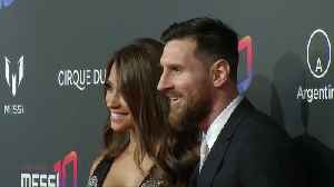 Messi walks red carpet for Cirque du Soleil show inspired by his career [Video]
