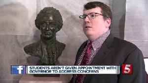 Students ask Governor to remove Nathan Bedford Forrest bust from capitol [Video]
