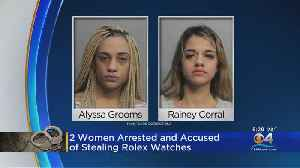 Women Accused Of Robbing Tourists [Video]