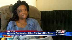 Huntsville hair stylist recovering after being run over by a car [Video]
