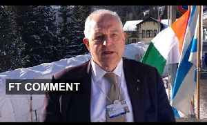 Davos - Martin Wolf on corporate governance   FT Comment [Video]
