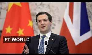 Osborne offers red carpet to China [Video]