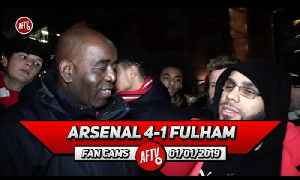 Arsenal 4-1 Fulham | I'd Rather Wait For Holding To Come Back Than Sign Cahill! (Da Mobb) [Video]